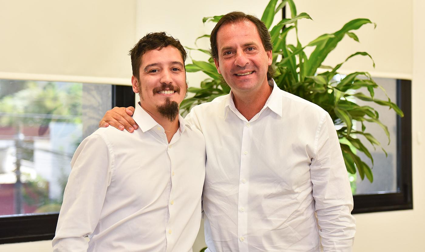 Nueva misión. Leonardo Moreno iniciará otra etapa en su carrera política junto a Sujarchuk.
